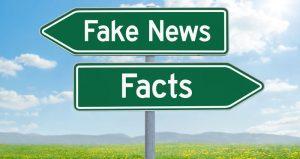 Fake news signpost