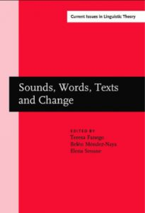 Sounds, words, texts and change book cover