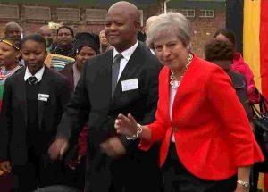 Theresa May Dances