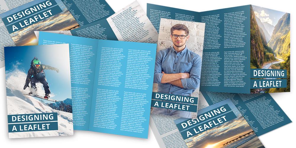 Leaflets montage
